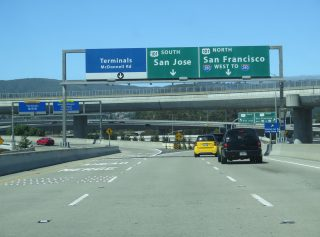 SFO Access Road at US 101/I-380