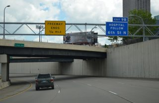 I-394 east at 6th St N - Minneapolis, MN