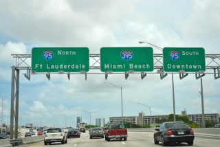 SR 836/Dolphin Expwy west at I-95/395 - 2011