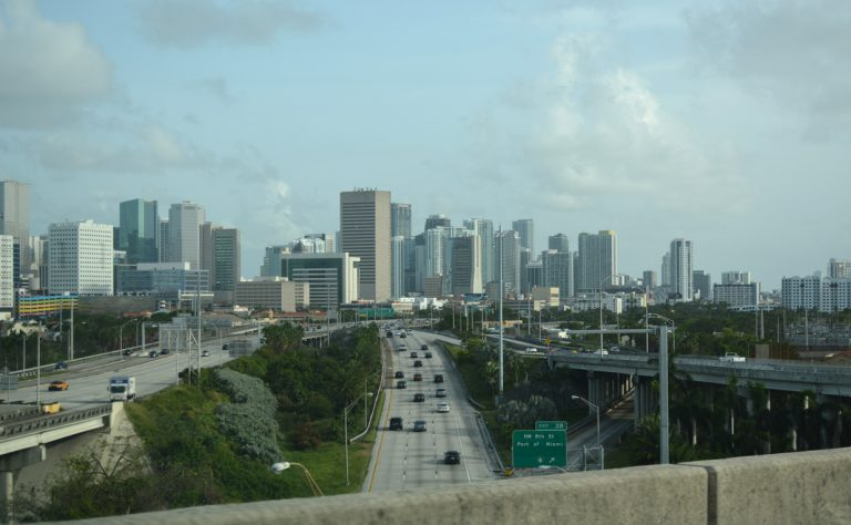 I-395/SR 836 at I-95 - Downtown Miami, FL