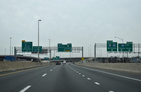I-395 south - Springfield Interchange