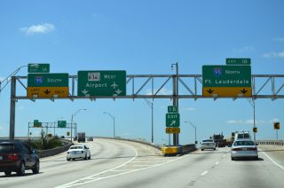 I-395 west at I-95/SR 836 - 2014
