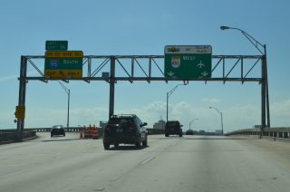 I-395 west at I-95/SR 836 - Miami, FL