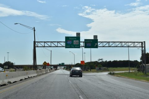 IH 10/SH 130 west at IH 410 - San Antonio, TX
