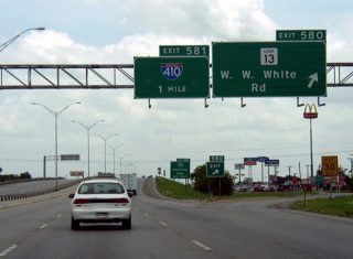 IH 10/US 90 east at IH 410 - San Antonio, TX