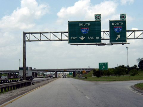 IH 10/US 90 west at IH 410 - 2003