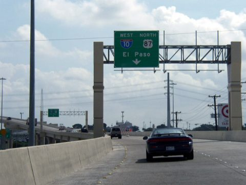 IH 410 east at IH 10/US 87 - 2003