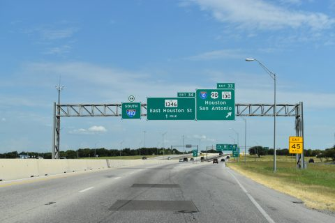 IH 410 south at IH 10/SH 130 - San Antonio, TX