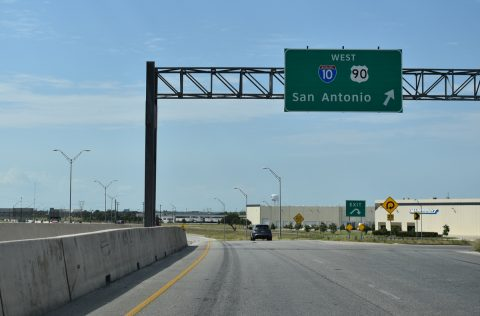 IH 410/SH 130 north at IH 10 - San Antonio, TX