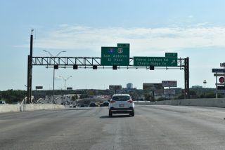 IH 410 west at IH 10/US 87 - San Antonio, TX