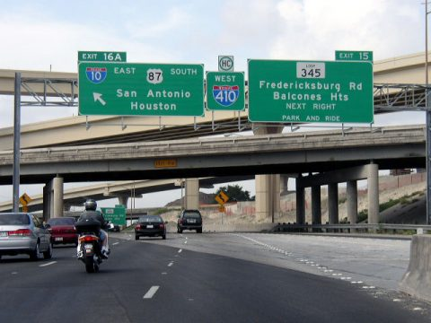 IH 410 west at IH 10/US 87 - 2003