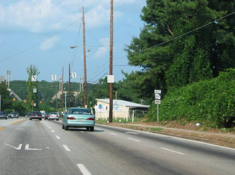 Lakewood Av north at SR 166 - Atlanta, GA