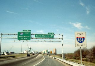 I-464 north at I-264 - 2001
