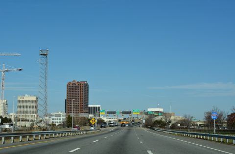 I-464 north at I-264 - Norfolk, VA