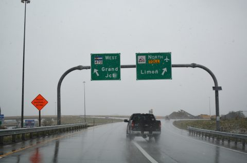 I-25 north at C-470 - Meridian, CO