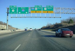 I-435 east at I-470/US 71 - 2002