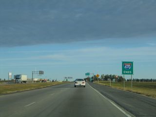 North end of I-470 - Independence, MO - 2004