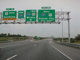 I-470/US 50 west at I-435/US 71 - 2002