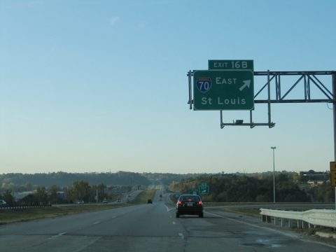 MO 291 south at I-470/70 - Independence