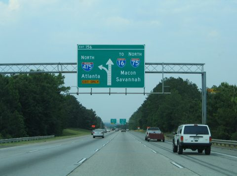 I-75 north at I-475 - 2005