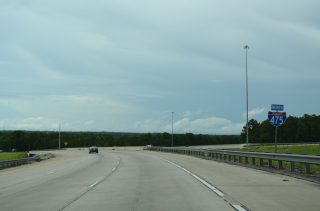 I-75/475 north split - Macon, GA