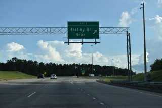 I-475 south at I-75 - Macon, GA