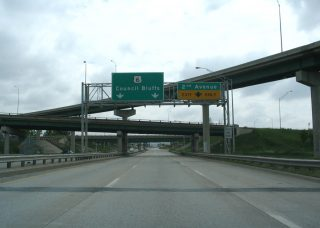 I-480 east at Broadway - Council Bluffs, IA