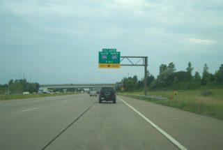 I-94/US 12 west at I-494/694 - Woodbury, MN
