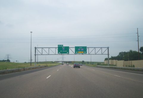 I-494 north at I-94/694 - Maple Grove, MN