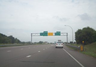 I-494 north at I-94/694-US 12 - Woodbury, MN