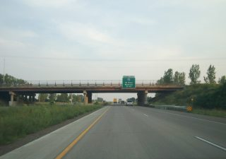 I-694 south at I-94/494-US 12 - Oakdale, MN