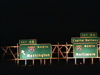 I-495 east at I-95/395 in 1995