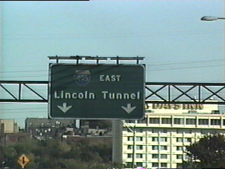I-495 East - Lincoln Tunnel