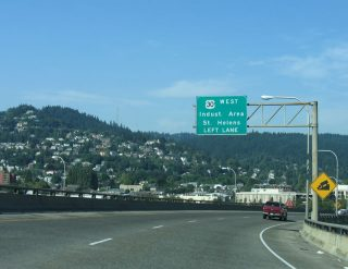 US 30 west at Vaughn St - Portland, OR
