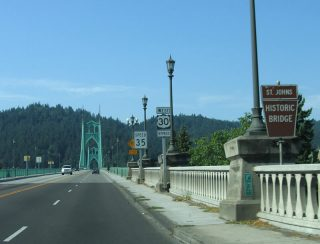 US 30 Bypass/St. Johns Br west at US 30 - Portland, OR
