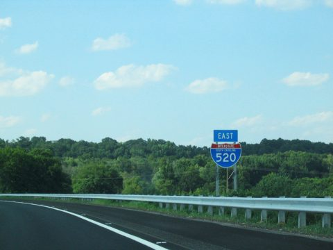 I-520 east of the Savannah River