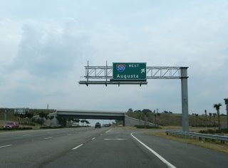 US 1/78/278 east at I-520 - North Augusta, SC