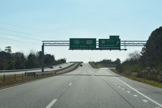 I-526 east at US 17/BS-526 - Mt. Pleasant, SC