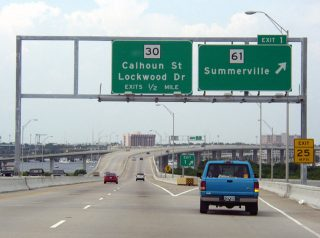 S.C. 30 east at S.C. 61 - Charleston