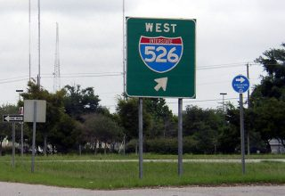 US 17 north at I-526 - 2003