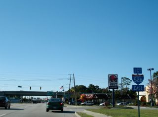 US 17 south at I-526 - Charleston, SC