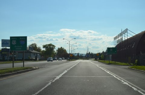 US 53 north at I-535 - Superior, WI