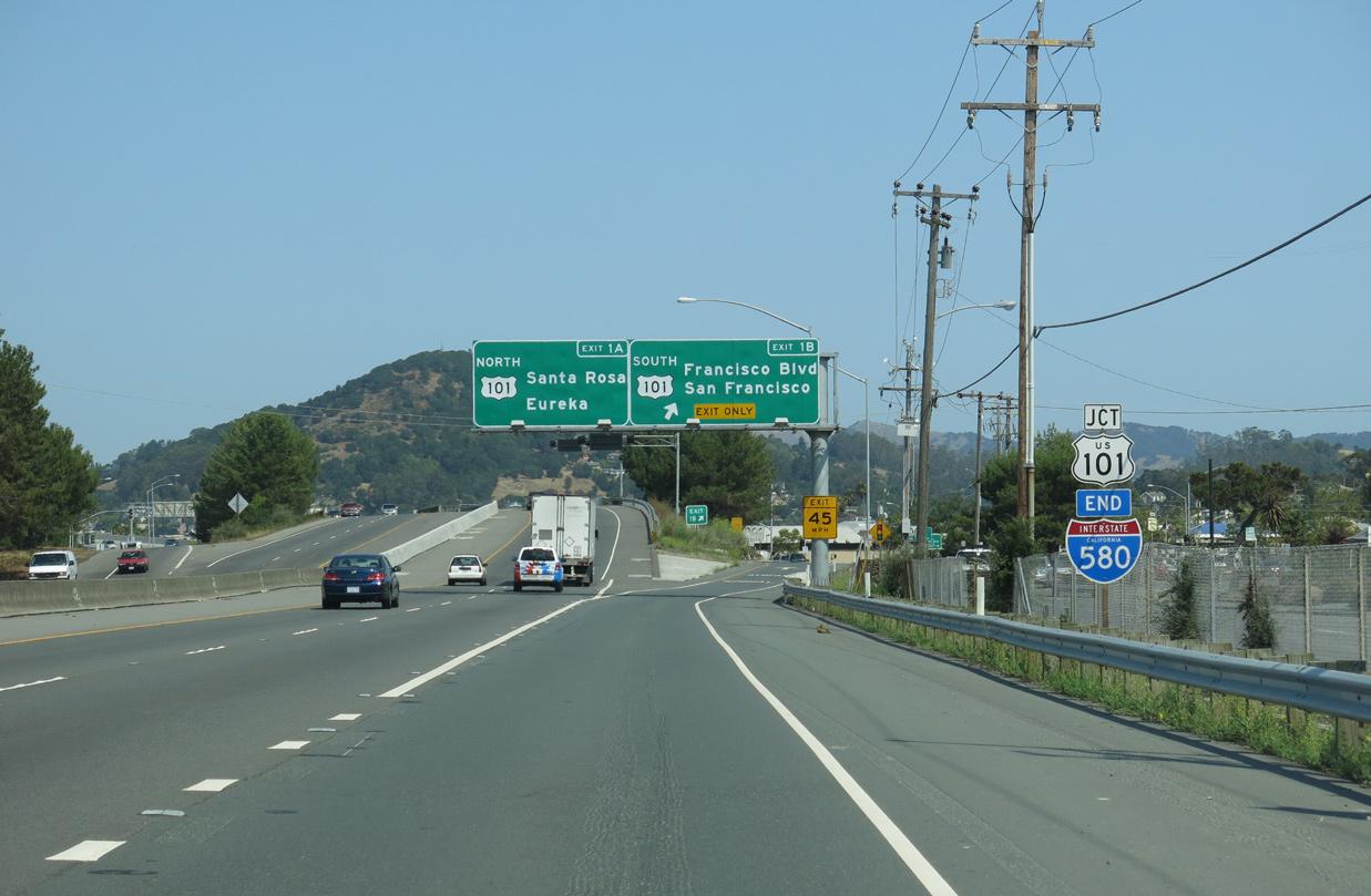 Interstate 580 California - Interstate-Guide com