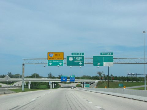 I-595 east at US 1 - 2003