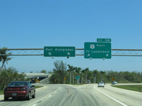 I-595 east at US 1 - 2006