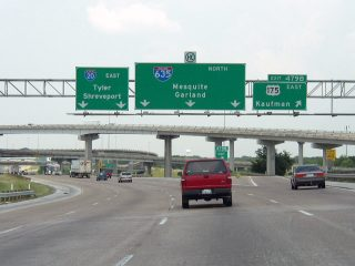 IH 20 east at US 175/IH 635 - 2003