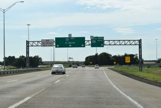 IH 20 west at IH 635 - Balch Springs, TX