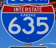 Interstate 635 Kansas