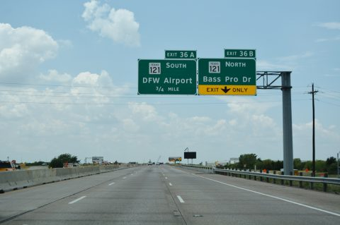 IH 635 west at SH 121 - Coppell, TX