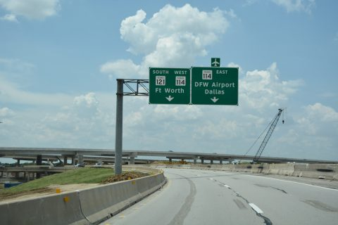 IH 635 west at SH 121 - Grapevine, TX